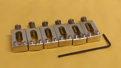 "Killer Brass Saddles - 2-1/16"" Import Tremolo- MIM Stratocaster - World's Finest"