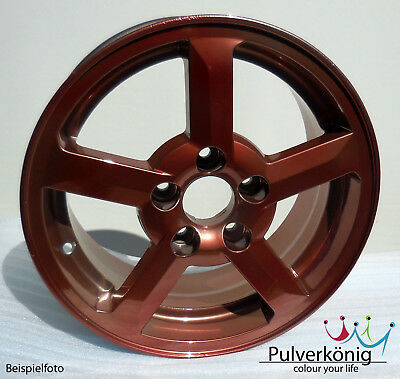 Pulverlack Kupfer Copper Candy Lasur Pulverbeschichtung Powdercoating