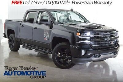 2016 Chevrolet Silverado 1500 LTZ Crew Cab Pickup 4-Door 2016 CHEVROLET SILVERADO 1500 LTZ Z71 4X4 NAV REAR CAM AC/HEATED SEATS