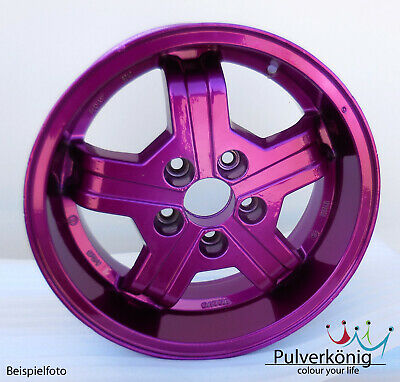 Pulverlack Twilight Purple Purpur Candy Lasur Pulverbeschichtung Powdercoating