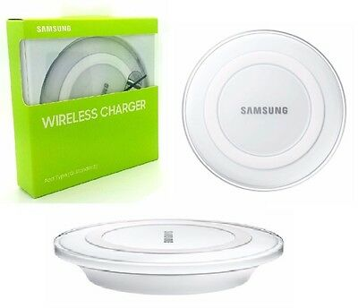 SAMSUNG Wireless Charger Pad Dock QI Plate for Galaxy S8/S7/S6 EDGE NOTE 5 NEW!