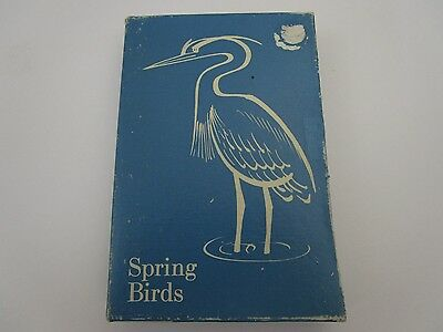 Vintage Audubon Aids by Allan Brooks 1971 Spring Bird Cards 50 Complete