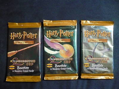 Harry Potter Quidditch Trading Booster Pack Expert Advanced