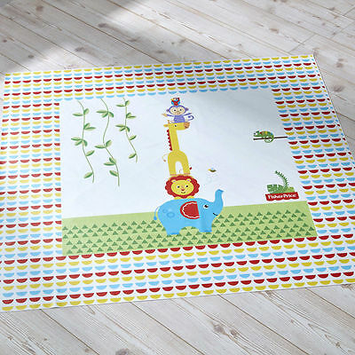 Fisher-Price Splash Mat Reach the Sky Toddler Feeding Floor Mat