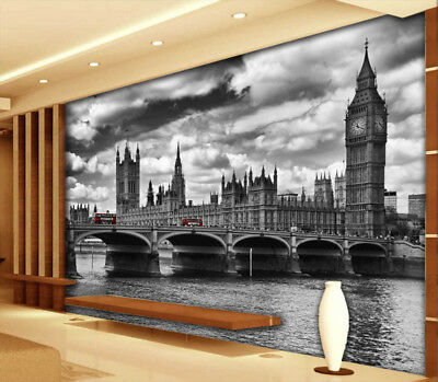 London Bridge 3D Full Wall Mural Photo Wallpaper Printing Home Kids Decoration