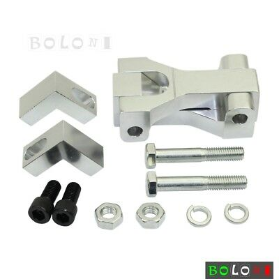 """CNC Motorcycle 3.5"""" Front Lowering Kit Drop Silver For Suzuki LTR 450 Quad Racer"""