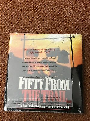 Fifty From The Trail-Marlboro Cookbook.  New In Plastic-look!!