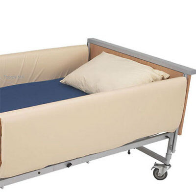 Bed Cot Side Full Length Bumpers - Pair