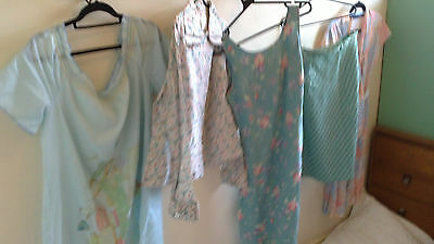 Vintage ladies clothes skirts and dresses lot 9 / 5 piece