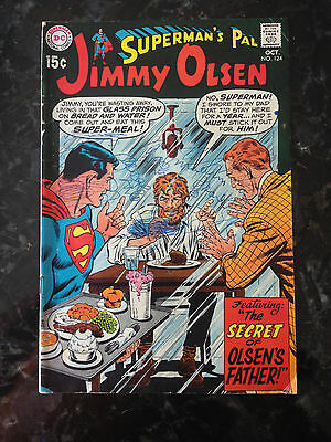 Silver age Comic Superman's Pal Jimmy Olsen #124 G