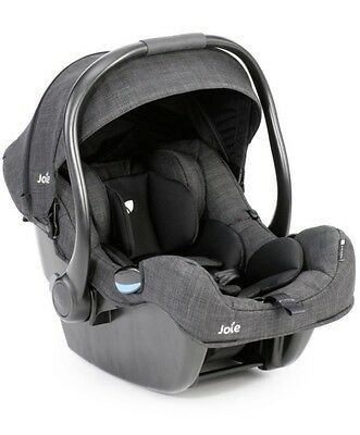 Joie iGemm Baby Car Seat - Pavement (Grey and Black) Colour