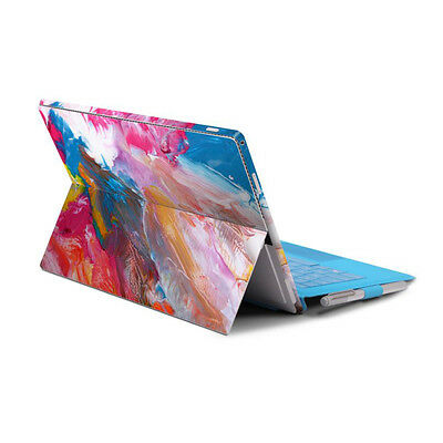 Back&Side Body Sticker Skin Decal Cover-Surface Pro 4/ Pro 2017 -Vibrant Color