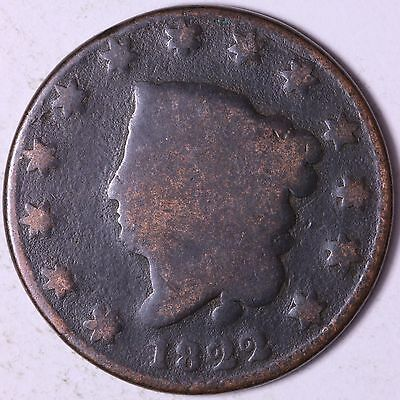1822 Large Cent R3TF