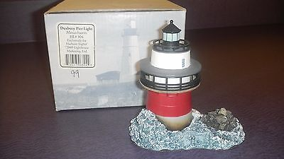 Harbour Lights Duxbury Pier Light  2009 Store Event  New & Signed  RARE