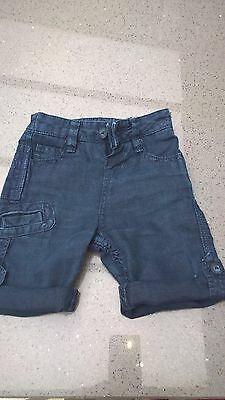 Baker Baby by Ted Baker Boys Denim Shorts age 3-6 months