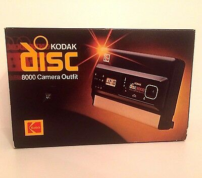 Vintage Kodak Disc 8000 Camera Outfit - Unused In Original Box With Film