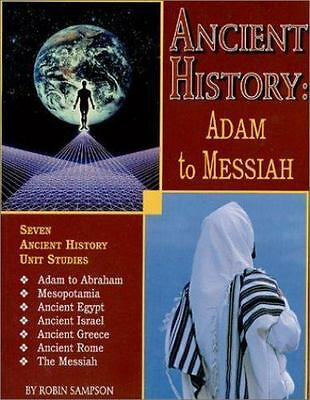 Ancient History : Adam to Messiah (2001, Paperback) by Heart of Wisdom