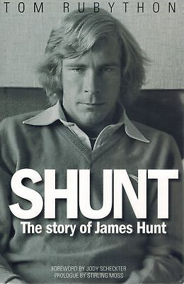Shunt: The Story of James Hunt 1st Edition HC BOOK