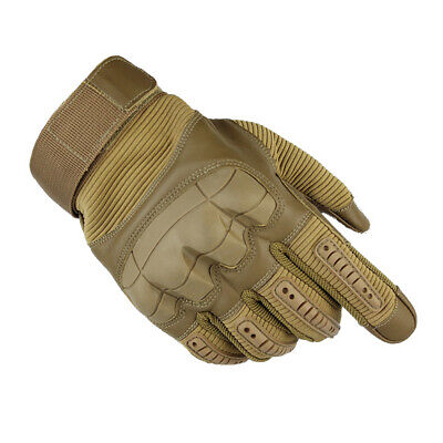 Tactical Military Assault Combat Hunting Hiking Motorcycle Knuckle Armor Gloves
