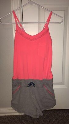 Pink and Grey Ivivva Romper Size 12