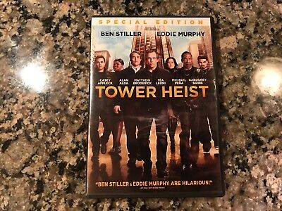 Tower Heist Dvd! 2011 Crime/Action!