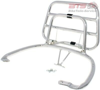 rear luggage rack folding chrome for Vespa Primavera / Sprint-Vespa Modern