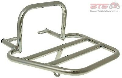 luggage rack / scooter trunk mounting chrome for Kymco New Sento