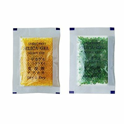 60 Packs 10 Gram Orange Premium Indicating Silica Gel Packets- RECHARGEABLE