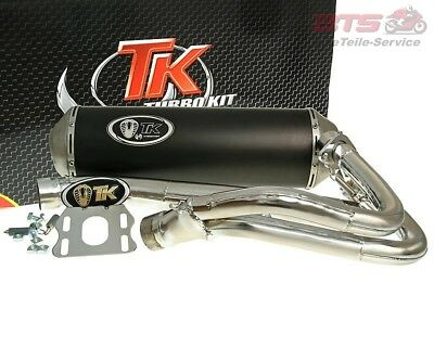exhaust Turbo Kit GMax 4T E-marked for Honda Silverwing 400 (-08)