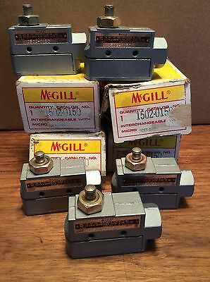 5 Mcgill Limit Switches 1502-0150..new In Boxes..