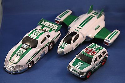 Hess Truck/Car Lot (3)--2012 SUV, 2014 Airplane, 2016 Race Car