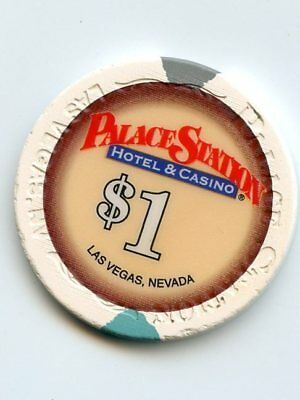 1.00 Chip from the Palace Station Casino in Las Vegas Nevada