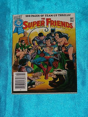 Best of D.C. Blue Ribbon Digest # 3, Feb. 1980, SUPER FRIENDS! FC, 100 pgs. VF