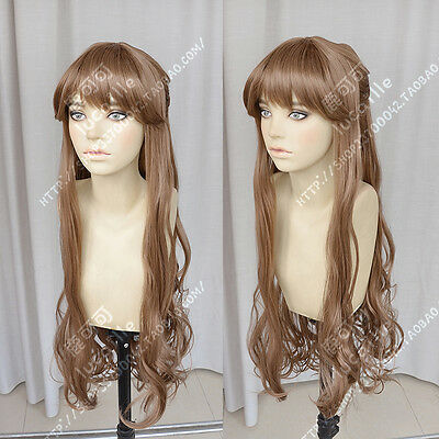 Fate/Apocrypha Fiore Forvedge Yggdmillennia Game Wavy Cosplay Costume Wig +Track