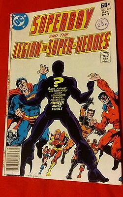 Superboy and the legion of Superheroes,  May 1978 Bronze Age, grade NM