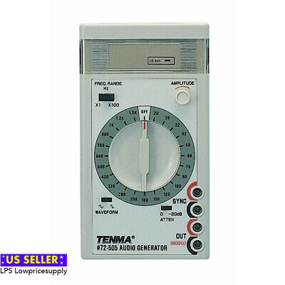 Brand New Tenma 72-505 Hand Held Audio Generator FAST SHIPPING!