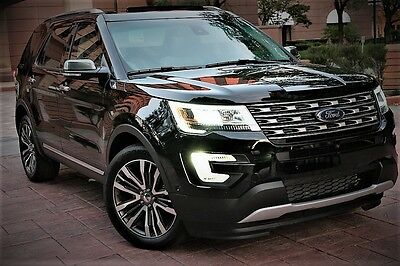 2016 Ford Explorer Platinum Sport Utility 4-Door 2016 ford explorer platinum, all options, look no further, this is a beauty
