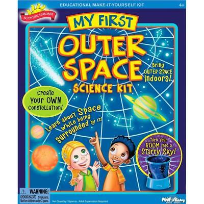 My First Outer Space Scientific Explorer Kids STEM Educational Science Kit Toys