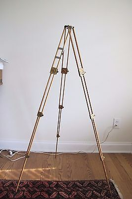 Antique Wooden Tripod Camera Vintage Wood Photography