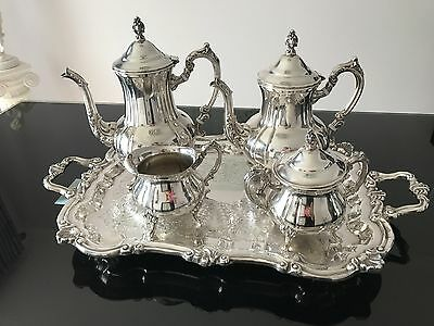 Vintage Towle Silverplate 5 pieces Coffee/Tea Service Set