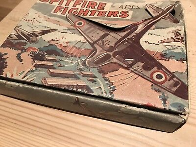 Tin Toys - American Classic Cadillac & Warplanes Spitfires in Original Box