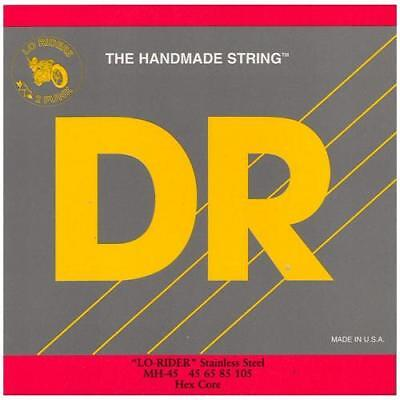 DR Strings MH45 Lo-Rider Medium Electric Bass 4 String Set (45-105)