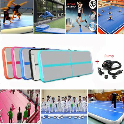 Inflatable Air Tumbling Air Track Floor Home Gymnastics Tumbling Mat GYM JO