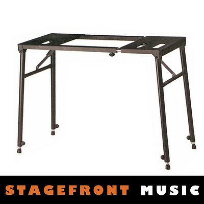 Xtreme Black Heavy Duty Keyboard / Piano / Dj Turntable & Mixer Stand