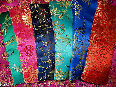 Eye Pillow linseed heat/chill washable cover, pure silk under, yoga, many colors