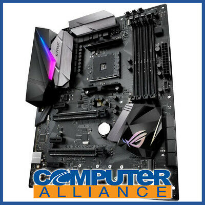 ASUS AM4 ATX STRIX X370-F GAMING DDR4 Motherboard