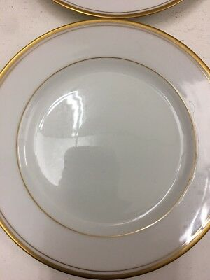 Noritake Goldlane 5084 Lot Of Four Small Side Dish Plates Jl080817 A