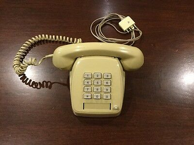 Antique Push Button Style Telecom Telehpone