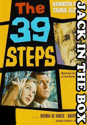 The 39 Steps DVD NEW, FREE POST WITHIN AUSTRALIA REGION ALL