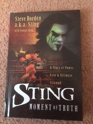 WWE WCW Sting Moment Of Truth Book
